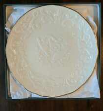 New Lenox The Wedding Promises Wedding Plate Nos from 2001