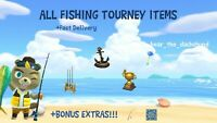 COMPLETE CJ Fishing Tourney Rewards: Animal Crossing New Horizons