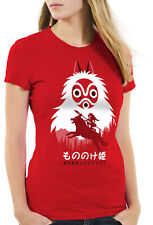 Mononoke Hime Bambini T-shirt no principessa Wolf Studio Principessa Anime Ghibli