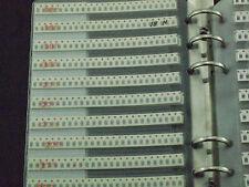 1206 SMD Chip Inductor Assortment Booklet Kit 34 value total 3400pcs sample book