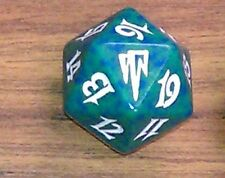 1 Green SPINDOWN Die Coldsnap - 20 sided Spin Down Dice MtG Magic the Gathering