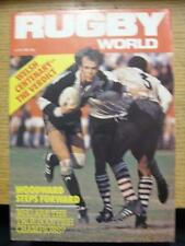 01/06/1981 Rugby World Magazine: June Edition - Complete Issue of the monthly ma