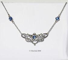 Eowyn Rohan argento fiore ciondolo collana il signore degli anelli Rohan LOTR Hobbit