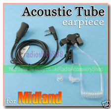 Earpiece Acoustic Tube For Midland GTX-200 SP14  35S2L