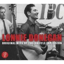 "LONNIE DONEGAN ""Original Hits Of The Skiffle Explosion"" new 3 CD set Lon Donegan"