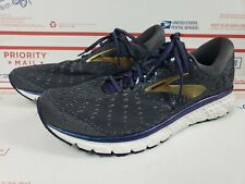 Brooks Glycerin 17 Men's Size US 11.5 Running Shoes Gray/Navy Blue/Gold