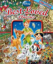 Disney Best Loved Classics LOOK AND FIND Book Oversized Hardcover *BRAND NEW*