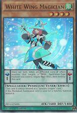 3X YU-GI-OH CARD: WHITE WING MAGICIAN - ULTRA RARE - PEVO-EN005 - 1ST EDITION