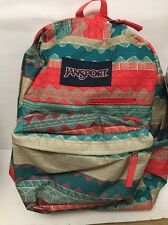 JANSPORT DIGIBREAK MULTI TAN BOHO BACKPACK # T50FO4G