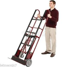 Furniture Moving Dolly 1200 Lb Appliance Heavy Duty 4 Wheels Hand Truck Vending