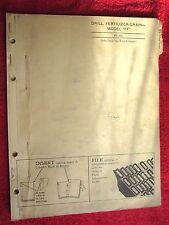 John Deere Ff Fertilizer Grain Drill Parts Catalog Manual Pc-451