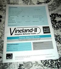 Vineland-II Survey Interview Form