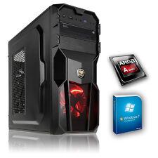 PC Completo AMD A4 3,2ghzGHz 4gb RAM, 500gb Hdd, Windows 7 ,Gaming Ordenador,