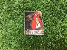 Supreme Riding Red Sticker Box Logo