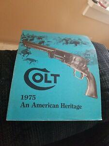 Colt 1975 Gun Catalog
