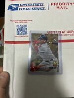 RAFAEL DEVERS 2018 TOPPS SERIES 1 GOLD PARALLEL #18 ROOKIE RC 1832/2018 RED SOX