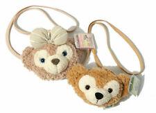 Tokyo Disney Duffy Bear ShellieMay Face Soft Shoulder Plush Toy Bag