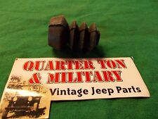 Jeep Willys MB GPW CJ2A CJ3A NOS Wagner Master cylinder boot (S23)