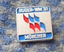 WELTMEISTERSCHAFT ROWING RUDERN MUNICH MUNCHEN 1981 RARITAT SILBER 800 NADEL