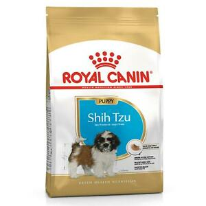 Royal Canin Shih Tzu Dry Puppy Dog Food, Breed Specific Health Nutrition - 1.5kg