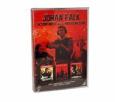 JOHAN Falk Acción Trilogy Set DVD Región 2 Nuevo Sellado