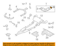 NISSAN OEM Exhaust-Front Pipe Gasket 206921E810