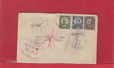 FREE OF DUTY TORonto Ont Registered GALT 1932 Canada cover