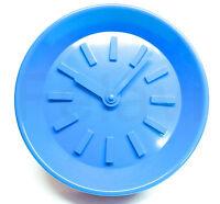 Wanduhr blau - Kunststoff Uhr - Baduhr - 26 cm - NEU und OVP!