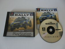 COLIN MCRAE RALLY - SONY PLAYSTATION - JEU PS1 PS2 PLATINUM COMPLET