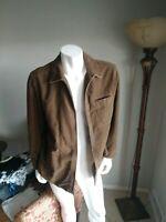 Tommy Bahama Mens 100% Cotton Jacket Zip Up Size Large