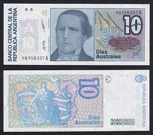 Argentina 10 australes 1985 (89) FDS/UNC  C-07