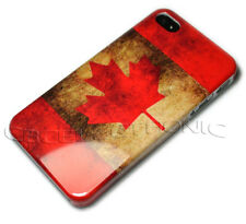 New Canada flag Retro design Gloss hard case back cover skin for iphone 4 4S