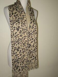 tally weijl écharpe leopard doré