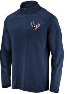 A12 Mens M Houston Texans Fanatics Branded Striated Primary Logo Raglan Jacket