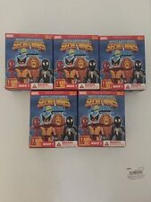 5 Blind Boxes MARVEL SUPER HEROES SECRET WARS MICRO BOBBLE BLIND BOX WAVE 1 NIB