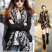 Lady Women Fashion Stylish Soft Silk Chiffon Voile Scarf Wrap Neck Shawl Stole