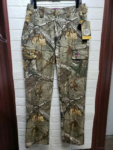 Browning Wasatch Womens Real Tree Xtra Pants Size Medium