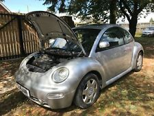 VW BEETLE 1999 X REG 2.0 PETROL SILVER  BREAKING ALL PARTS AVAILABLE LG9R SILVER