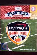 Official NCAA College Football Orange Bowl 2017/18 Patch Miami Wisconsin