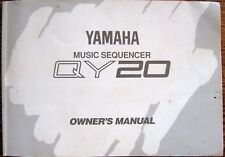 Yamaha QY-20 Midi Sequencer Synth Drum Machine Original Owner's Manual Book QY22