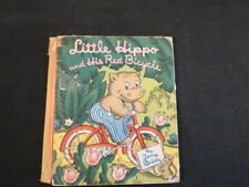 Little Hippo and his Red Bicycle Tony Brice 1945 HC