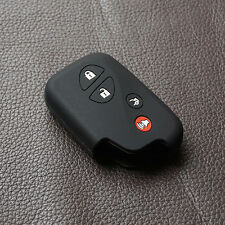 Black key fob skin protect for Lexus IS250 ES240 ES350 RX270 RX350 RX300 remote