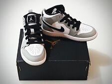 Nike Air Jordan 1 Mid SE Light Smoke Gray (PS) Bambino 28 EU / 11C US