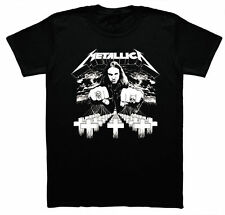 METALLICA Master of Puppets Cliff Burton unisex T Shirt black gift man band cool