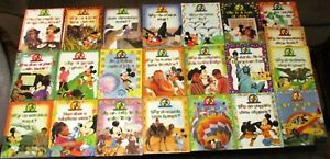 Mickey Wonders Why Hardcover Book Lot (22 Different)  1992 & 1993   New  NICE!!!