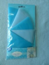 """Tulle Circles 9"""" Blue Wedding & Baby Shower 30 Pcs. ~ New ~ Fast Shipping!"""