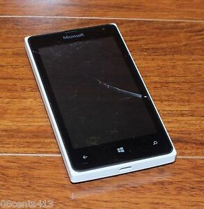 Microsoft Lumia 435 - 8GB - White (T-Mobile) GSM Smartphone ONLY **READ**