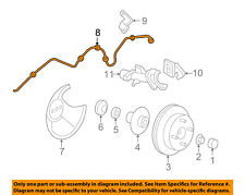 FORD OEM 05-07 Focus Rear Brake-Hydraulic Flex Hose 5S4Z2282BA