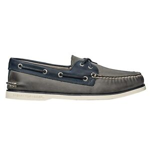 New Men`s Sperry Gold Cup Authentic Original 2-Eye Boat Shoes STS17474