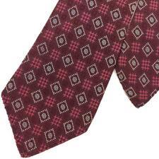 Vintage/Rare May Co.Tie 20s 30s Mid-century Geometric Dots Jacquard Necktie L6